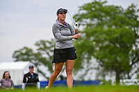 Jennifer Kupcho (USA) watches her tee shot on 3 during the round 2 of the KPMG Women's PGA Championship, Hazeltine National, Chaska, Minnesota, USA. 6/21/2019.<br /> Picture: Golffile | Ken Murray<br /> <br /> <br /> All photo usage must carry mandatory copyright credit (© Golffile | Ken Murray)