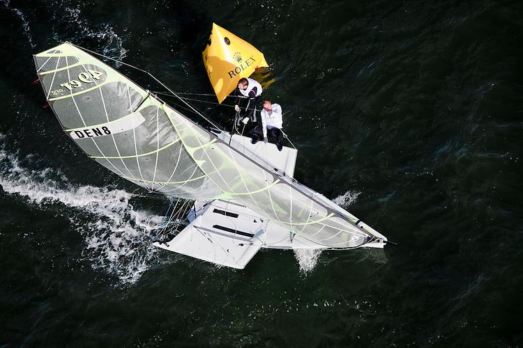 den8, Fleet: 49er, Crew: Jonas Warrer, søren hansen, Country: DEN
