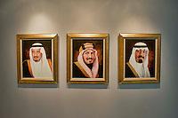 Roma 3 Ottobre 2013<br /> Celebrazioni per gli 80 Anni di Relazioni Diplomatiche tra Arabia Saudita e Italia.<br /> I ritratti dei  sovrani dell'Arabia Saudita<br /> Saudi Cultural Days in Rome<br />  The portraits of the rulers of Saudi Arabia