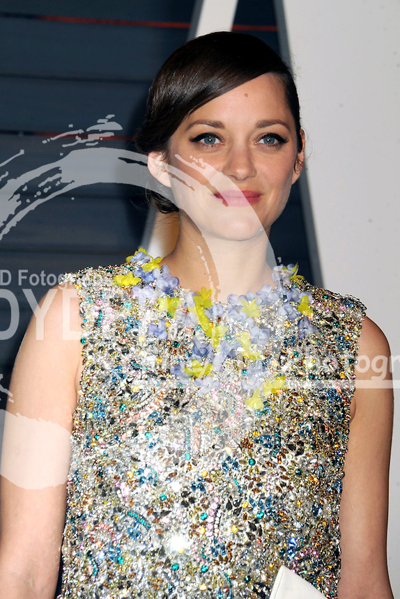 Marion Cotillard attending the Vanity Fair Oscar Party 2015 on February 22, 2015 in Beverly Hills, California.