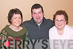 40TH BIRTHDAY: Seamus Stack celebrating his 40th birthday in The Horse Shoe Bar, Listowel on Saturday night pictured here with his mother Betty and wife Colette.   Copyright Kerry's Eye 2008