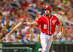22 August 2015: Washington Nationals infielder Anthony Rendon is walked in the 3rd inning against the Milwaukee Brewers at Nationals Park in Washington, DC. The Nationals defeated the Brewers 6-1 in the second game of their 3-game weekend series. Mandatory Credit: Ed Wolfstein Photo *** RAW (NEF) Image File Available ***