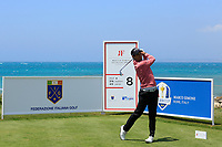 Matteo Manassero (ITA) during the second round of the Rocco Forte Sicilian Open played at Verdura Resort, Agrigento, Sicily, Italy 11/05/2018.<br /> Picture: Golffile | Phil Inglis<br /> <br /> <br /> All photo usage must carry mandatory copyright credit (&copy; Golffile | Phil Inglis)