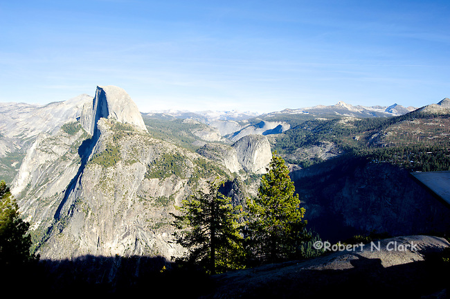 The Glacier Point viewing are in Yosemite National Park