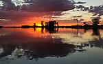 Sunrise over the Pantanal, Brazil