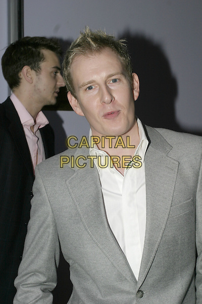 PATRICK KIELTY.Polo - Official Pre-Cartier Internatioanl Day Party.At The Collection, London, England..July 20, 2004 .half length, gray, grey jacket, blazer.www.capitalpictures.com.sales@capitalpictures.com.© Capital Pictures..