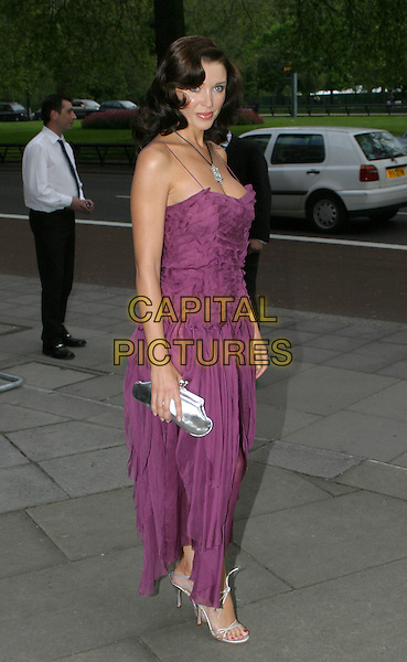 DANNII MONOGUE.Sony Radio Academy Awards.full length, full-length, purple flowing dress.www.capitalpictures.com.sales@capitalpictures.com.© Capital Pictures.