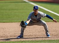 Chris Taylor.<br /> <br /> Acciones del partido de beisbol, Dodgers de Los Angeles contra Padres de San Diego, tercer juego de la Serie en Mexico de las Ligas Mayores del Beisbol, realizado en el estadio de los Sultanes de Monterrey, Mexico el domingo 6 de Mayo 2018.<br /> (Photo: Luis Gutierrez)