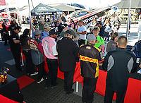 26-28 October, 2012, Las Vegas, Nevada USA, Toyota, pit pass, fans @2012, Mark J. Rebilas