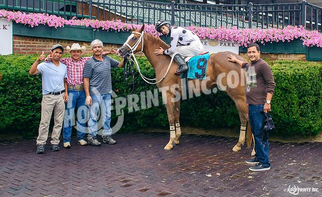 Ocala Chrome winning at Delaware Park on 7/6/17