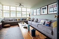 BNPS.co.uk (01202 558833)<br /> Pic: LillicrapChilcott/BNPS<br /> <br /> Snug with harbour views...<br /> <br /> I predict a riot of potential home owners flocking to the Falmouth home of Kaiser Chiefs frontman Ricky Wilson.<br /> <br /> The harbourside mansion has been put up for sale with a £1.5 million asking price after the Yorkshire band have gone back on the road.<br /> <br /> Regency era Stratton House is not very Rock'n'Roll but it does contain a Great Escape replica motorbike that Wilson has never actually ridden having failed his test twice.