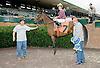 Carolyn Shines winning at Delaware Park on 10/8/12