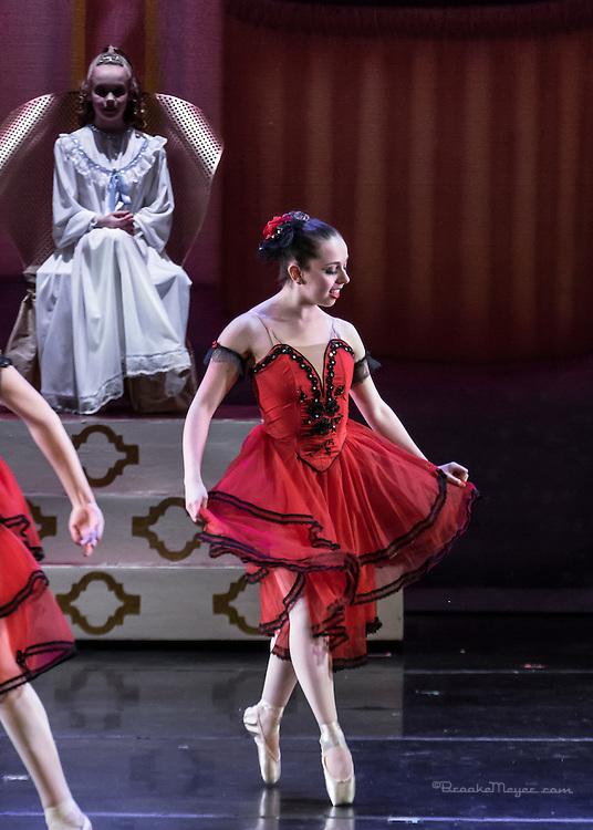 "Cary Ballet Company, ""Visions of Sugarplums"", Sun. Matinee Performance, 20 Dec. 2015, Cary Arts Center, Cary, North Carolina."