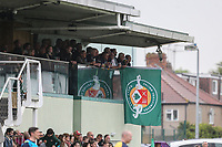 Supporters during the British & Irish Cup Final match between Ealing Trailfinders and Leinster Rugby at Castle Bar, West Ealing, England  on 12 May 2018. Photo by David Horn / PRiME Media Images.