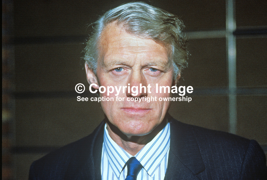 Eldon Griffiths, MP, Conservative Party, UK, parliamentary advisor, UK Police Federation. 19840143EG1..Copyright Image from Victor Patterson, 54 Dorchester Park, Belfast, UK, BT9 6RJ..Tel: +44 28 9066 1296.Mob: +44 7802 353836.Voicemail +44 20 8816 7153.Skype: victorpattersonbelfast.Email: victorpatterson@me.com.Email: victorpatterson@ireland.com (back-up)..IMPORTANT: If you wish to use this image or any other of my images please go to www.victorpatterson.com and click on the Terms & Conditions. Then contact me by email or phone with the reference number(s) of the image(s) concerned.