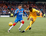 10.11.2019: Livingston v Rangers: James Tavernier and Steve Lawson