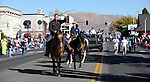U.S. Sen. Dean Heller, R-Nev., and his wife Lynne ride in the 75th annual Nevada Day parade in Carson City, Nev., on Saturday, Oct. 26, 2013.<br /> Photo by Cathleen Allison