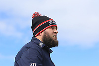 Andrew Johnston (ENG) on the 2nd tee during Round 1 of the Open de Espana 2018 at Centro Nacional de Golf on Thursday 12th April 2018.<br /> Picture:  Thos Caffrey / www.golffile.ie<br /> <br /> All photo usage must carry mandatory copyright credit (&copy; Golffile | Thos Caffrey)