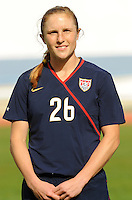 Rachel Buehler. The USWNT defeated Iceland (2-0) at Vila Real Sto. Antonio in their opener of the 2010 Algarve Cup on February 24, 2010.
