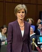 """Former Acting Attorney General of the United States Sally Q. Yates arrives to give testimony before the US Senate Committee on the Judiciary Subcommittee on Crime and Terrorism hearing titled """"Russian Interference in the 2016 United States Election"""" on Capitol Hill in Washington, DC on Monday, May 8, 2017.<br /> Credit: Ron Sachs / CNP<br /> (RESTRICTION: NO New York or New Jersey Newspapers or newspapers within a 75 mile radius of New York City)"""