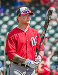 21 March 2015: Washington outfielder Drew Vettleson awaits his turn in the batting cage prior to a Spring Training Split Squad game against the Atlanta Braves at Champion Stadium at the ESPN Wide World of Sports Complex in Kissimmee, Florida. The Braves defeated the Nationals 5-2 in Grapefruit League play. Mandatory Credit: Ed Wolfstein Photo *** RAW (NEF) Image File Available ***