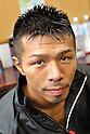Takashi Uchiyama (JPN),..DECEMBER 31, 2011 - Boxing :..Takashi Uchiyama of Japan poses in the dressing room after the WBA super featherweight title bout at Yokohama Cultural Gymnasium in Kanagawa, Japan. (Photo by Hiroaki Yamaguchi/AFLO)