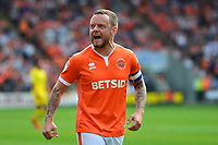 Blackpool's Jay Spearing reacts<br /> <br /> Photographer Richard Martin-Roberts/CameraSport<br /> <br /> The EFL Sky Bet League One - Blackpool v Fleetwood Town - Monday 22nd April 2019 - Bloomfield Road - Blackpool<br /> <br /> World Copyright © 2019 CameraSport. All rights reserved. 43 Linden Ave. Countesthorpe. Leicester. England. LE8 5PG - Tel: +44 (0) 116 277 4147 - admin@camerasport.com - www.camerasport.com