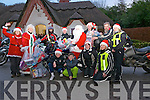 The Toys for Tots Motorbike Run pictured with Santa after delivering their toys to Santa's Lodge at Deenagh Lodge, The Desemne, Killarney last Sunday.