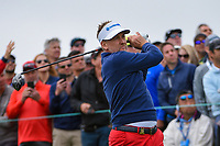 Ian Poulter (GBR) watches his tee shot on 9 during round 1 of the 2019 US Open, Pebble Beach Golf Links, Monterrey, California, USA. 6/13/2019.<br /> Picture: Golffile | Ken Murray<br /> <br /> All photo usage must carry mandatory copyright credit (© Golffile | Ken Murray)