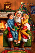 Christmas - Classical Santas Paintings Marcellos