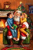 Interlitho-Marcello, CHRISTMAS SANTA, SNOWMAN, WEIHNACHTSMÄNNER, SCHNEEMÄNNER, PAPÁ NOEL, MUÑECOS DE NIEVE, paintings+++++,santa, 2 kids,KL6136,#x#
