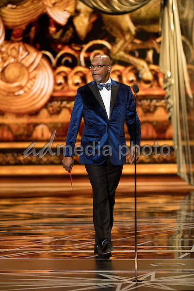 26 February 2017 - Hollywood, California - Samuel L. Jackson. 89th Annual Academy Awards presented by the Academy of Motion Picture Arts and Sciences held at Hollywood & Highland Center. Photo Credit: AMPAS/AdMedia