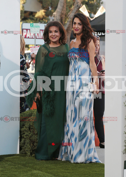 WESTWWOD, CA - October 22: Amal Clooney, Baria Alamuddin, At The Premiere Of Paramount Pictures' 'Suburbicon' At the Village Theatre California on October 22, 2017. Photo Credit: Faye Sadou /Media Punch /NortePhoto.com