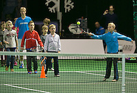 12-02-14, Netherlands,Rotterdam,Ahoy, ABNAMROWTT, Kids day <br /> Photo:Tennisimages/Henk Koster