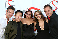 LOS ANGELES - JUN 15:  Joshua Blaine, Matthew Moy, Ariel Winter, Shanelle Gray, David Gray at the Gray Studios Showcase at the Grays Studios, 5250 Vineland Ave. on June 15, 2017 in North Hollywood, CA