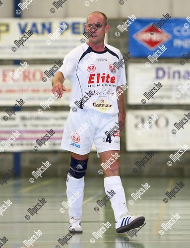 2008-08-30 / Futsal / Supercup: Malle - Charleroi / Kurt Gessner..Foto: Maarten Straetemans (SMB)