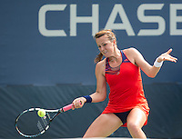 Anastasia Pavlyuchenkova<br /> <br /> Tennis - US Open  - Grand Slam -  Flushing Meadows  2013 -  New York - USA - United States of America - Monday 26th August 2013. <br /> &copy; AMN Images, 8 Cedar Court, Somerset Road, London, SW19 5HU<br /> Tel - +44 7843383012<br /> mfrey@advantagemedianet.com<br /> www.amnimages.photoshelter.com<br /> www.advantagemedianet.com<br /> www.tennishead.net