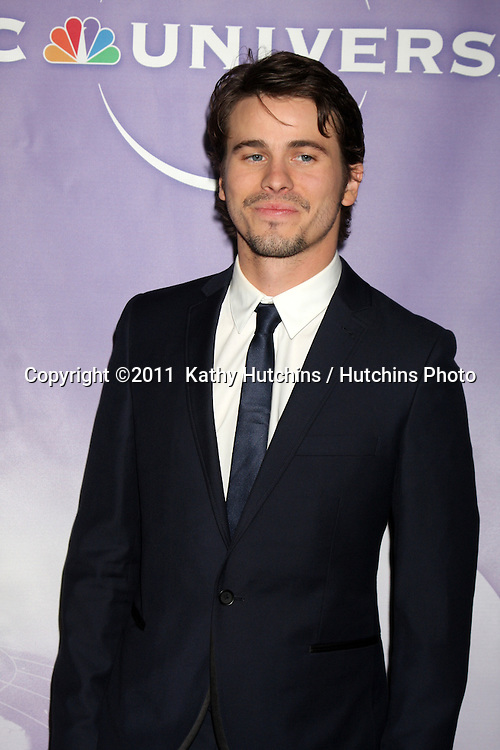 LOS ANGELES - JAN 13:  Jason Ritter arrives at the NBC TCA Winter 2011 Party at Langham Huntington Hotel on January 13, 2010 in Westwood, CA.