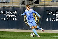 Chester, PA - Friday December 08, 2017: Alan Winn The Indiana Hoosiers defeated the North Carolina Tar Heels 1-0 during an NCAA Men's College Cup semifinal soccer match at Talen Energy Stadium.