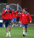 Kyle Lafferty and Matt McKay