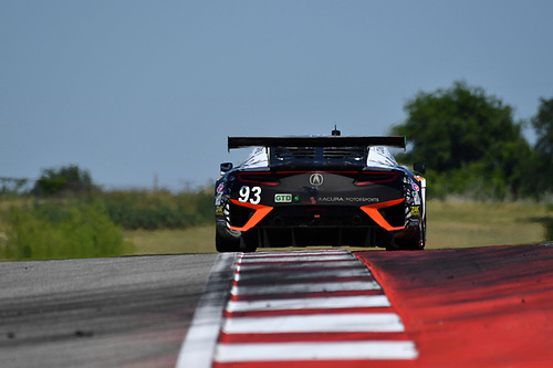 IMSA WeatherTech SportsCar Championship<br /> Advance Auto Parts SportsCar Showdown<br /> Circuit of The Americas, Austin, TX USA<br /> Saturday 6 May 2017<br /> 93, Acura, Acura NSX, GTD, Andy Lally, Katherine Legge<br /> World Copyright: Richard Dole<br /> LAT Images<br /> ref: Digital Image RD_COTA_17327