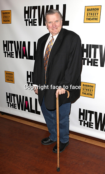 """David Mixner attending the New York Premiere of the Opening Night Performance of """"Hit The Wall"""" at the Barrow Street Theatre in New York City on 3/10/2013...Credit: McBride/face to face"""