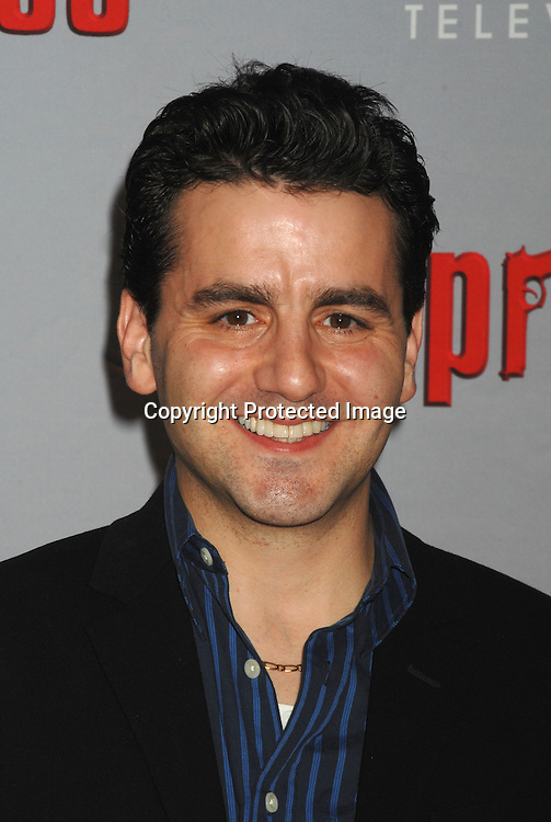 Max Casella..arriving at The Sopranos World Premiere of two new episodes of the HBO original series on March 27, 2007 at..Radio City Music Hall in New York...Robin Platzer, Twin Images