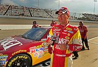 May 1, 2009; Richmond, VA, USA; NASCAR Sprint Cup Series driver Clint Bowyer during qualifying for the Russ Friedman 400 at the Richmond International Raceway. Mandatory Credit: Mark J. Rebilas-