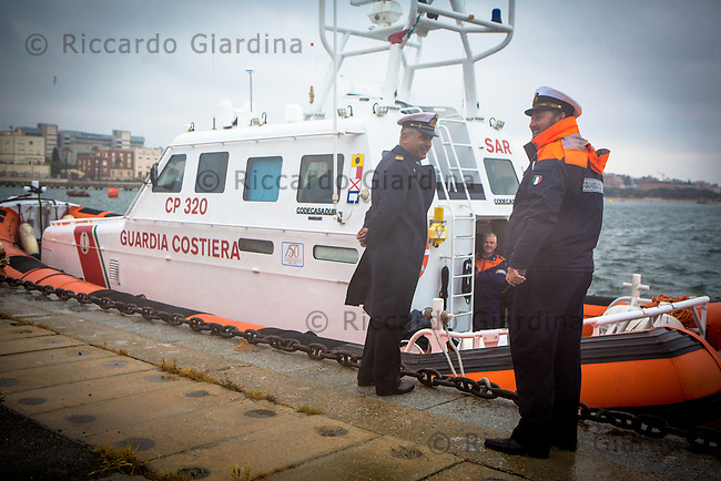 08/05/2016 - Guardia Costiera - Rescue Staff at 2016 Cagliari ITU Triathlon World Cup -