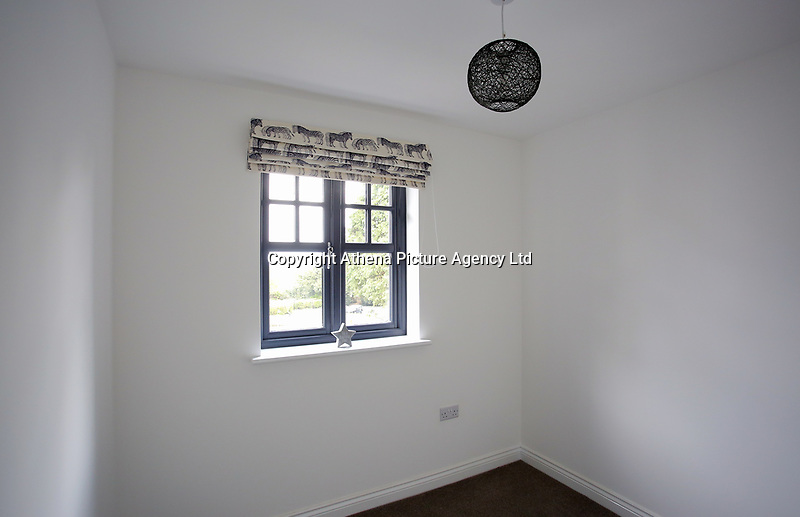 Pictured: Interior view of the bedroom in one of the affordable homes. Wednesday 26 April 2017<br /> Re: Waterstone Homes' most recent property development Howell's Reach, is in Derwen Fawr, Swansea and is made up of 13 luxury family homes, and also includes five affordable homes.