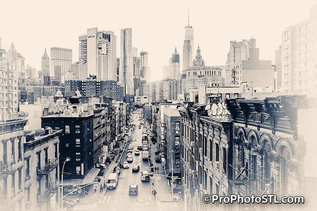 New York city Chinatown