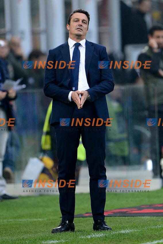Massimo Oddo allenatore Pescara coach<br /> Milano 30-10-2016 Stadio Giuseppe Meazza - Football Calcio Serie A Milan - Pescara. Foto Giuseppe Celeste / Insidefoto