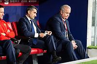 FC Barcelona coach Ernesto Valverde during King's Cup Finals match between Sevilla FC and FC Barcelona at Wanda Metropolitano in Madrid, Spain. April 21, 2018. (ALTERPHOTOS/Borja B.Hojas)