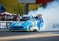 Jun 16, 2017; Bristol, TN, USA; NHRA funny car driver Tim Wilkerson during qualifying for the Thunder Valley Nationals at Bristol Dragway. Mandatory Credit: Mark J. Rebilas-USA TODAY Sports